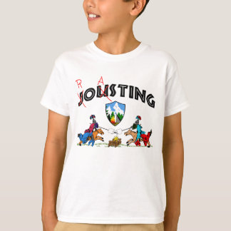 Camper Knights Roasting Marshmallow On Lance Funny T-Shirt