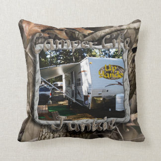 Camper Life Junkie Pillow