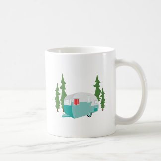 Camper Scene Coffee Mug