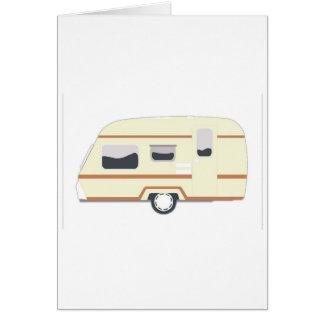 Camper Trailer Camping Van Card