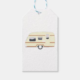 Camper Trailer Camping Van Gift Tags