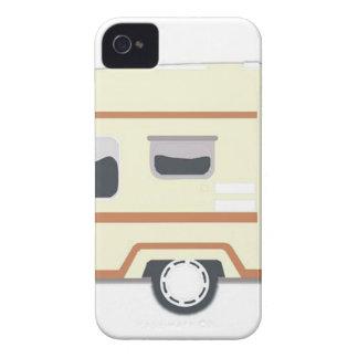 Camper Trailer Camping Van iPhone 4 Case-Mate Case