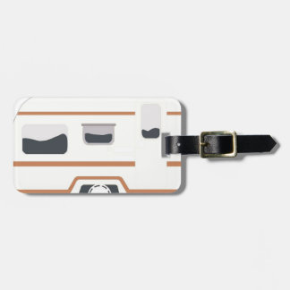 Camper Trailer Camping Van Luggage Tag
