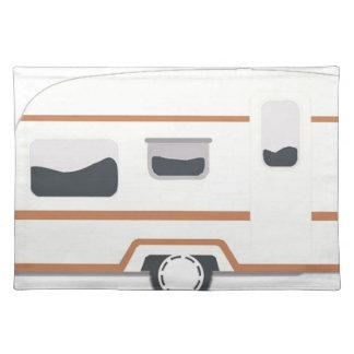 Camper Trailer Camping Van Placemat