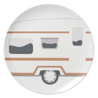 Camper Trailer Camping Van Plate