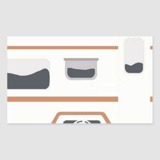 Camper Trailer Camping Van Sticker