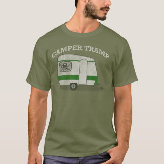 CAMPER TRAMP DISTRESSED T-Shirt