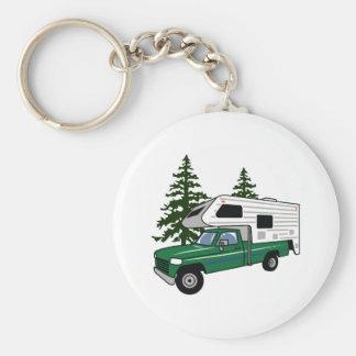 Camper Truck Keychain