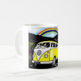 Camper van: cool Camper Coffee Mug