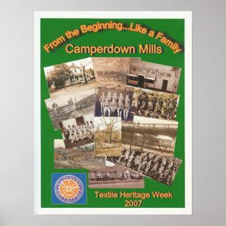 Camperdown/Textile Week Poster