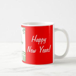 Camperdown Tower Christmas Mug
