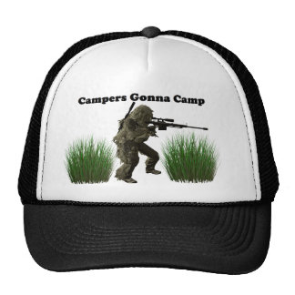 Campers Gonna Camp Trucker Hat