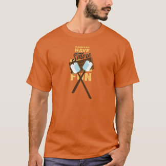 Campers Have S'more Fun Bonfire Bash T-Shirt