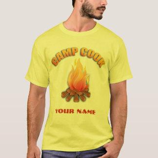 Campfire Camp Cook T-shirt