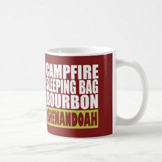 Campfire Sleeping Bag Bourbon Shenandoah Coffee Mug