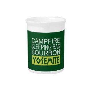 Campfire Sleeping Bag Bourbon Yosemite Pitcher