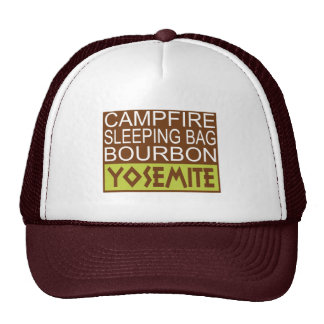 Campfire Sleeping Bag Bourbon Yosemite Trucker Hat