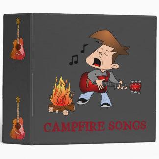 Campfire Songs Sheet Music 3 Ring Binder