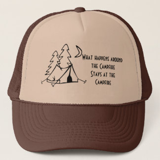 Campfire Trucker Hat