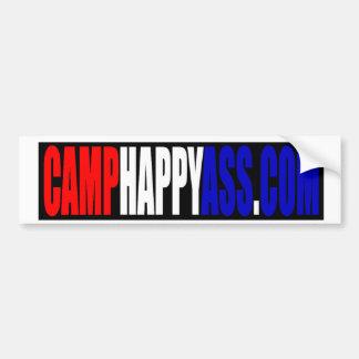 CAMPHAPPYASS.COM Bumper Sticker
