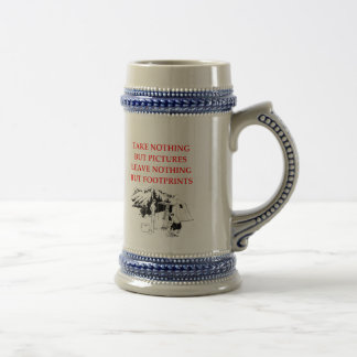 CAMPING BEER STEIN