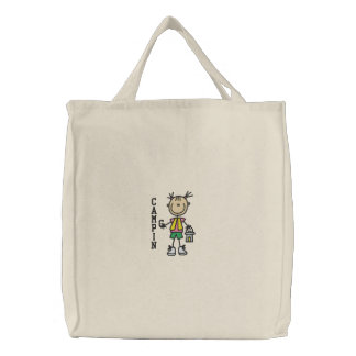 Camping Embroidered Bag