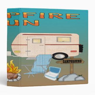 Camping Fun 3-Ring Binder