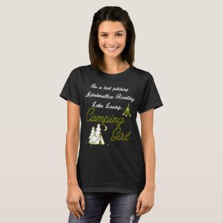 Camping Girl T-Shirt