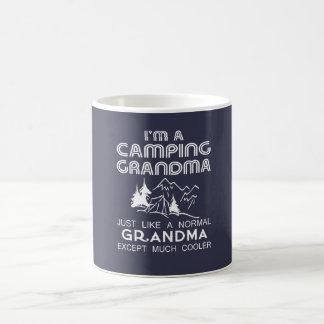 Camping Grandma Coffee Mug