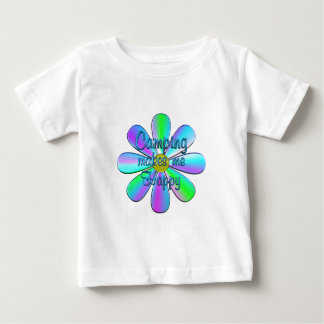 Camping Happy Baby T-Shirt