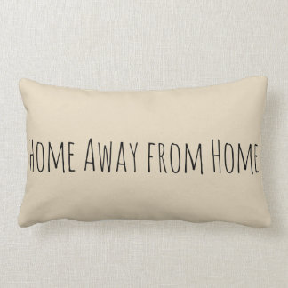 "Camping ""Home Away from Home"" Pillow"