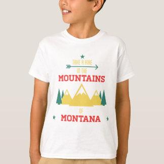 Camping In Montana T-Shirt