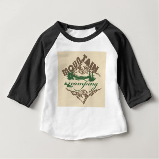 Camping in Mountain Baby T-Shirt