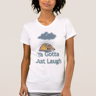 Camping in the Rain T-Shirt