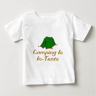 Camping Is In-Tents Baby T-Shirt