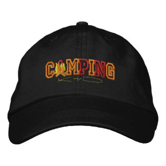 Camping Kid Embroidered Hats