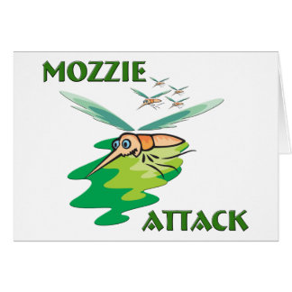 Camping Mozzie Card