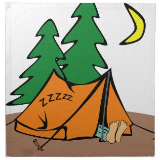 Camping Outside Napkin