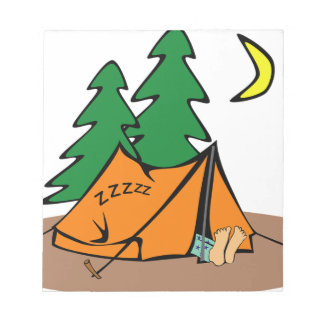 Camping Outside Notepad