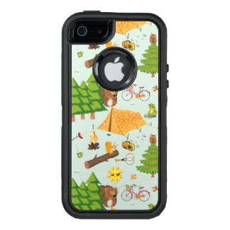 Camping Pattern OtterBox iPhone 5/5s/SE Case