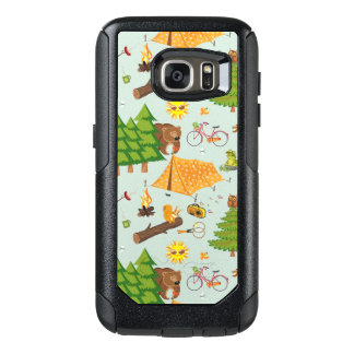 Camping Pattern OtterBox Samsung Galaxy S7 Case