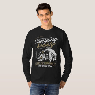 Camping Society May the Mountains be With You T-Shirt