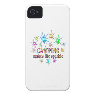 Camping Sparkles Case-Mate iPhone 4 Cases