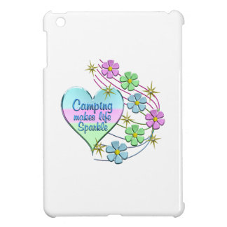 Camping Sparkles Cover For The iPad Mini