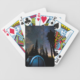 Camping Star Light Star Bright Bicycle Playing Cards