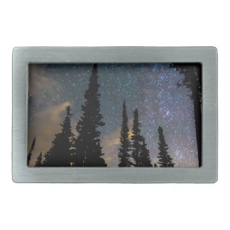 Camping Star Light Star Bright Rectangular Belt Buckles