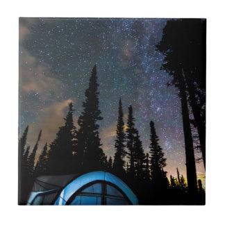 Camping Star Light Star Bright Tile