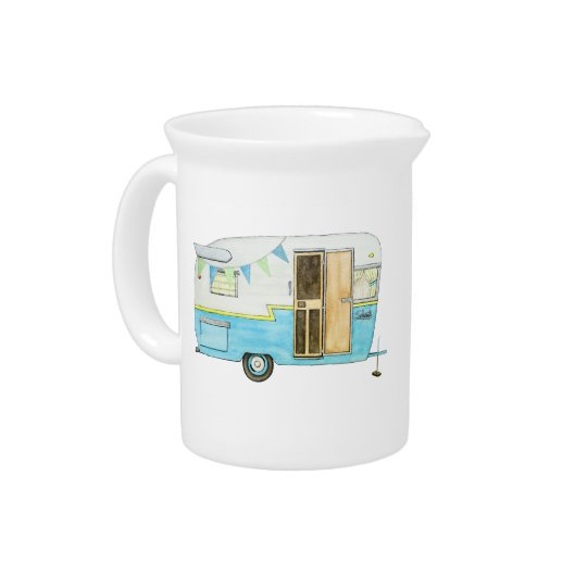 Camping Trailer Pitcher