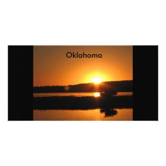 camping trip,  Oklahoma Photo Greeting Card