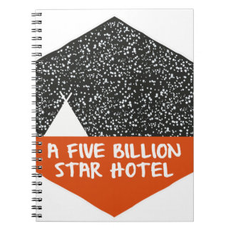 Camping under the stars notebooks